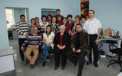 Коллектив сотрудников проектного отдела