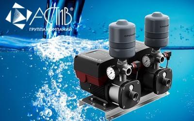 Насосные установки повышения давления Grundfos CMBE TWIN уже в продаже!