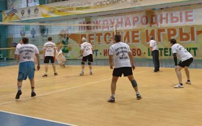 Победа в турнире по волейболу
