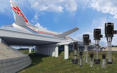 Поставка насосов Grundfos серии CR для аэропорта Шереметьево