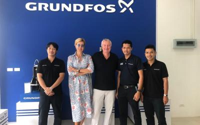 Делегация АСТИВ посетила представительство и сервисный центр Грундфос в Тайланде