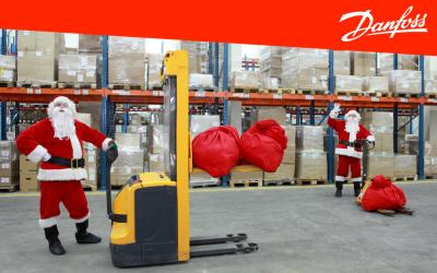 Режим отгрузок оборудования Данфосс в праздничные дни со склада в Москве