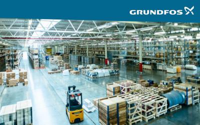 График отгрузки насосного оборудования Грундфос со склада в Москве в декабре 2018 года