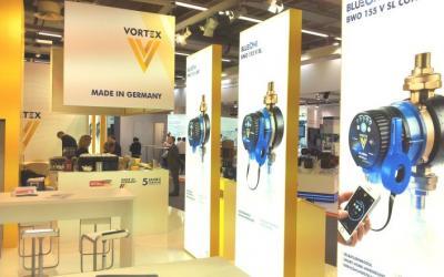 Deutsche Vortex на выставке ISH-2019, Германия