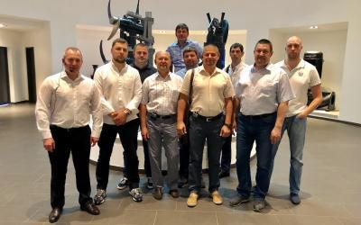 Завод по производству насосов Grundfos в Венгрии посетил представитель ГК АСТиВ в составе группы партнеров
