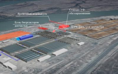 Проектирование реконструкции правобережных очистных сооружений канализации г.Улан-Удэ. 1 этап. 2 пусковой комплекс