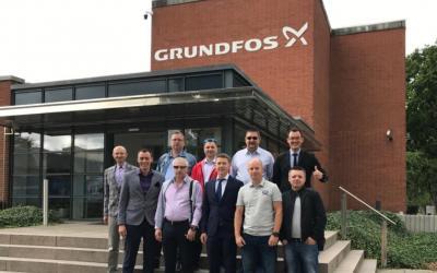 Представитель ГК «АСТиВ» посетил завод попроизводству насосов Grundfos вг. Вальштедт, Германия