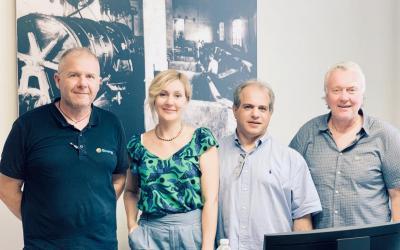 Делегация ГК «АСТиВ» посетила сервисный центр насосного оборудования Grundfos ENERGY S.R.L. в Италии