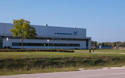Исполнительный директор ГК «АСТИВ» Александр Шеверев посетил в составе группы дилеров на завод Грундфос в Венгрии
