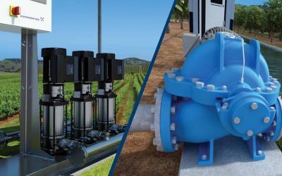 Насосное оборудование Grundfos для сельского хозяйства и животноводства