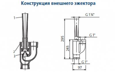 Пример монтажа  (с установкой мембранного бака и реле давления)