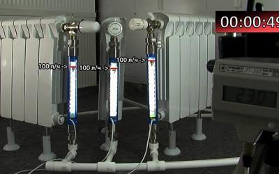 Тест газовых, жидкостных и парафиновых термоэлементов «Данфосс»