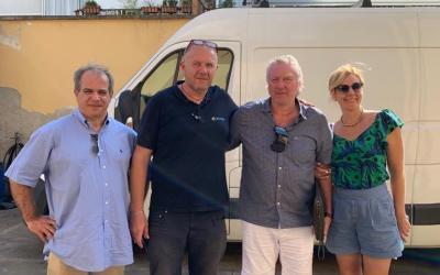 Председатель совета директоров ГК «АСТиВ» посетил Сервисный центр насосного оборудования ENERGY S.R.L. в Италии
