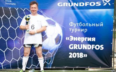 Команда АСТИВ приняла участие в турнире Grundfos мини-футболу