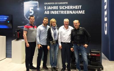 Делегация ГК АСТиВ на международной выставке ISH-2019 во Франкфурте